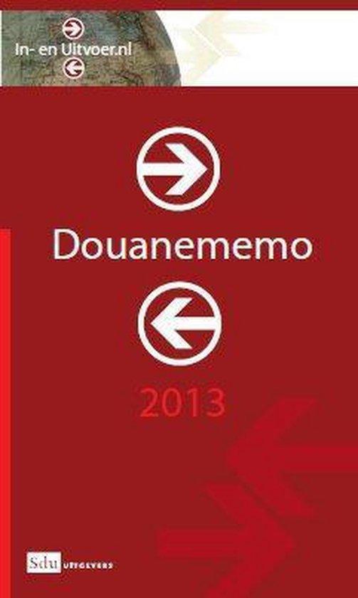 Douanememo 2013 - M.R. Oudenaarden   Fthsonline.com