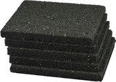 Rubber tegeldrager 100x100x15mm - per 90 stuks