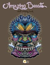 Amazing Beasts - Adult Coloring Book
