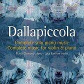 Dallapiccola: Complete Music For Pi