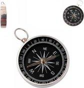 BonQ Pocket Kompas - Aluminum - 4.3 x 4.3 cm