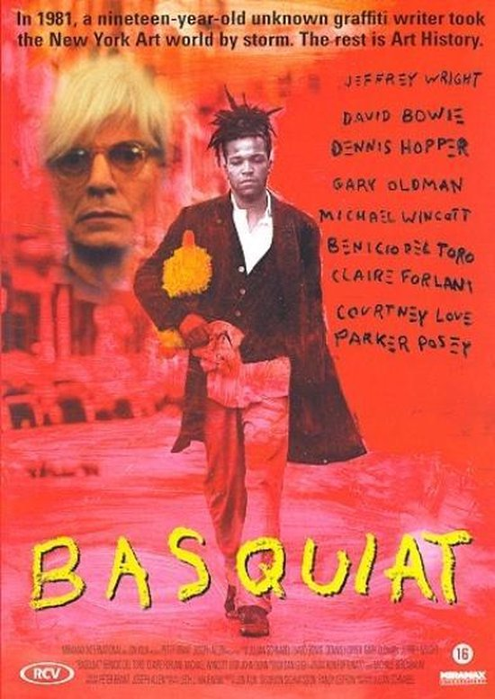 Cover van de film 'Basquiat'