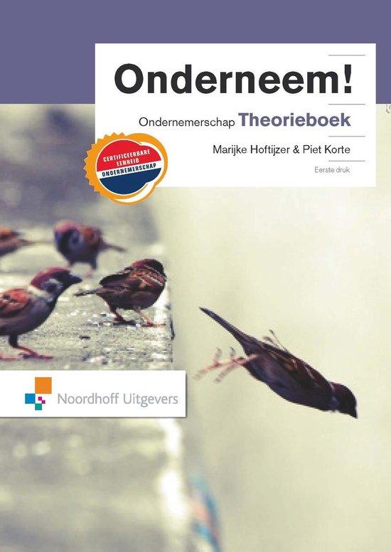 Onderneem! CE Ondernemerschap Theorieboek - Marijke Hoftijzer  