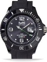 Tutti Milano TM001NO- Horloge - 48 mm - Zwart - Collectie Pigmento