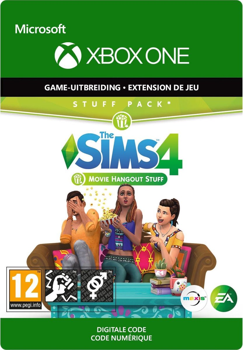 The Sims 4: Movie Hangout Stuff - Add-on - Xbox One download