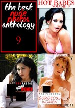 Omslag The Best Nude Photos Anthology 9 - 3 books in one
