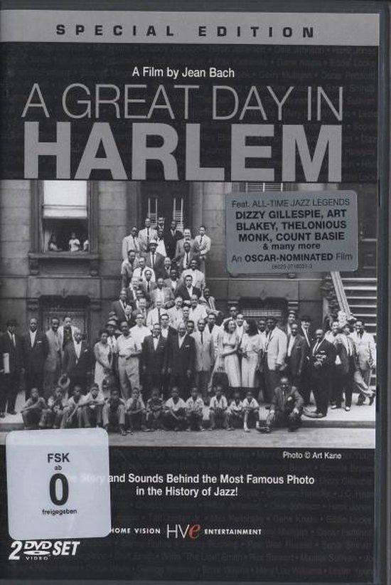 Cover van de film 'A Great Day In Harlem'