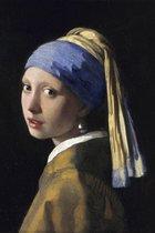 Canvasdoek Meisje met de parel | Johannes Vermeer | Canvas | 40x60CM