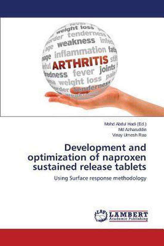Boek cover Development and Optimization of Naproxen Sustained Release Tablets van Azharuddin Md (Paperback)