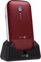 Doro 2404 Senioren Klaptelefoon met grote knoppen (Rood-Wit)