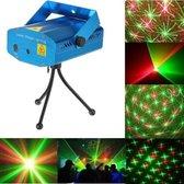 Sterrenhemel Laser Stroboscoop Projector Op Geluid - Flash LED Verlichting Disco Stage Lighting Lamp