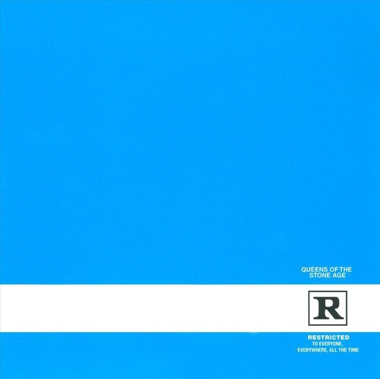 CD cover van Rated R van Queens Of The Stone Age