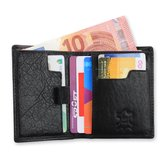 Safekeepers- Premium Creditcardwallet  Lost & Find Code - art. 1130 - RFID Protected - Black