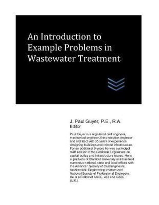 An Introduction to Example Problems in Wastewater Treatment