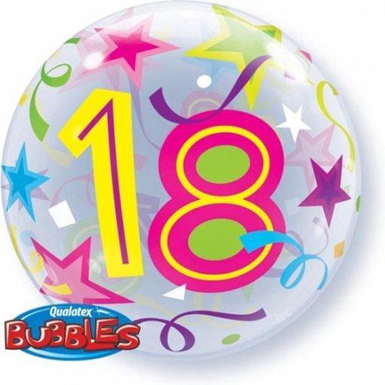 Folie ballon 18 jaar 56 cm