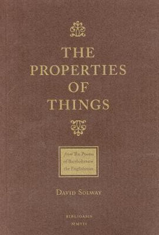 The Properties of Things: From