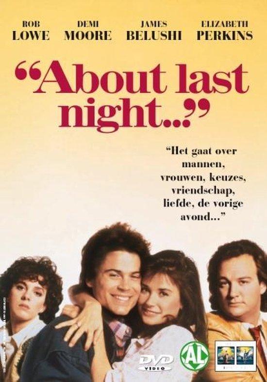 Cover van de film 'About Last Night'
