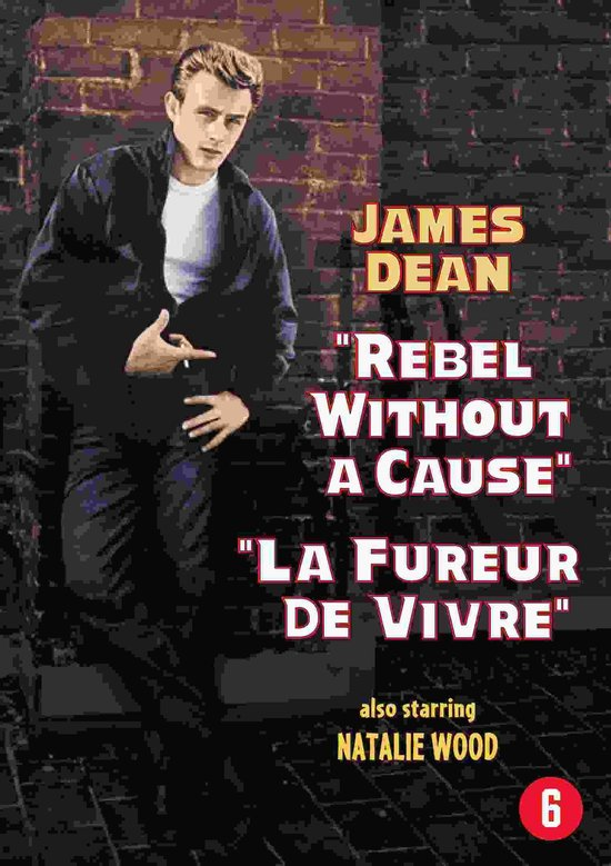 Cover van de film 'Rebel Without A Cause'