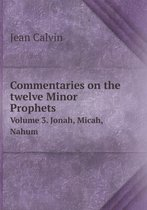 Commentaries on the Twelve Minor Prophets Volume 3. Jonah, Micah, Nahum