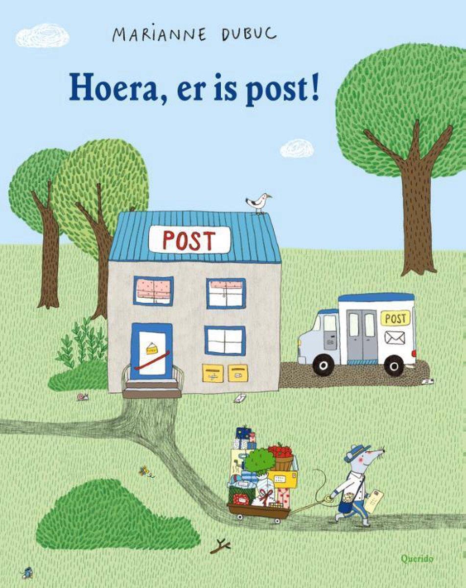 bol.com | Hoera, er is post!, Marianne Dubuc | 9789045118239 | Boeken