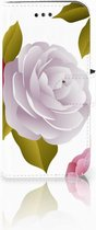 Samsung Galaxy A3 2017 Uniek Bookcase Hoesje Roses
