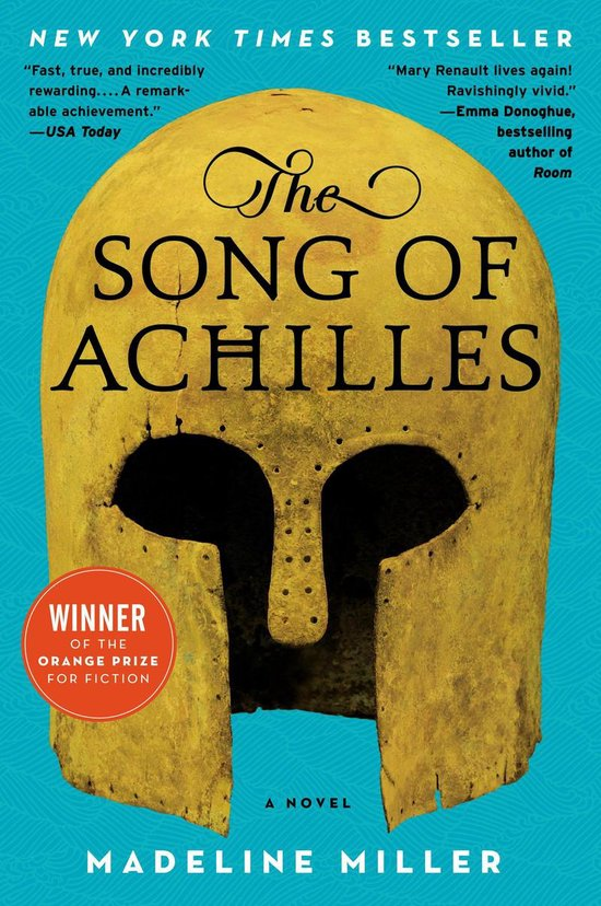 Boek cover The Song of Achilles van Madeline Miller (Onbekend)
