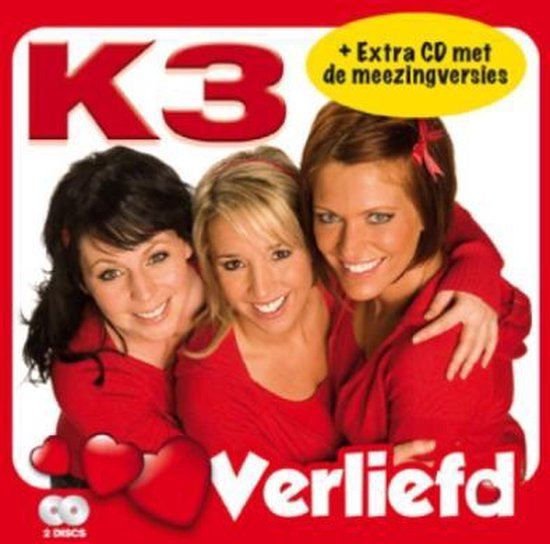 CD cover van Verliefd van K3