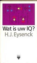 Boek cover Wat is uw IQ?  Prismapocket nr 1063 van Hans J. Eysenck