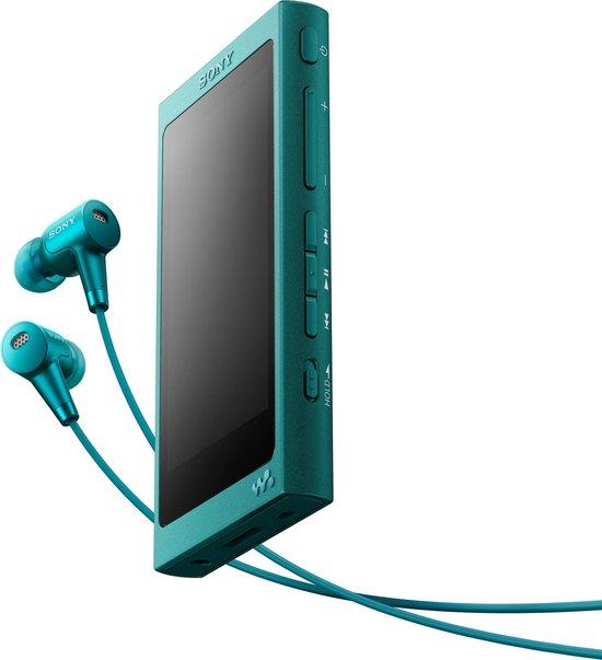 Sony NW-A35HN - Walkman – Hi-Res Audio MP3 speler – 16GB – Blauw