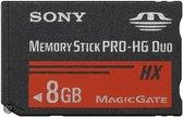Sony PRO-HG 8 GB HX duo Memory Stick  - Geschikt voor de PSP
