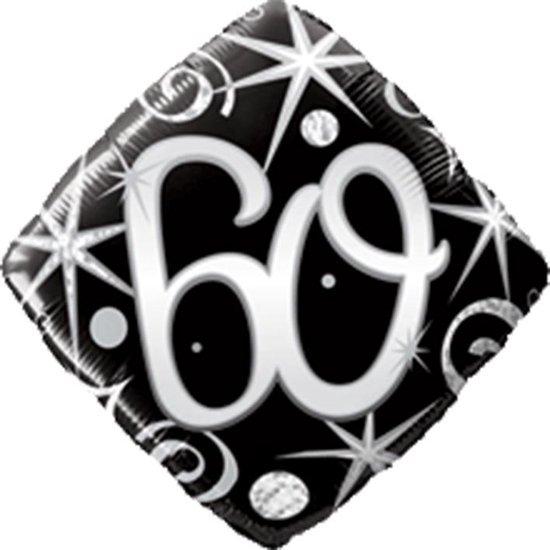 Folieballon 60 vierkant