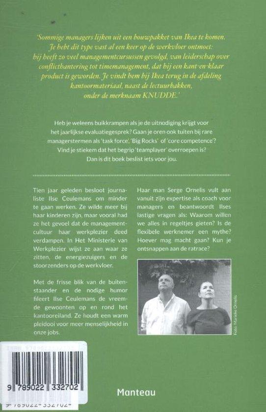 Het ministerie van Werkplezier - Ilse Ceulemans | Fthsonline.com
