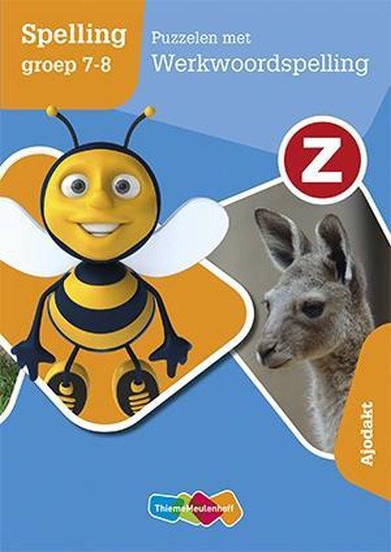 Puzzelen met werkwoordspelling Groep 7/8 Werkboek - Ofkje Teekens |