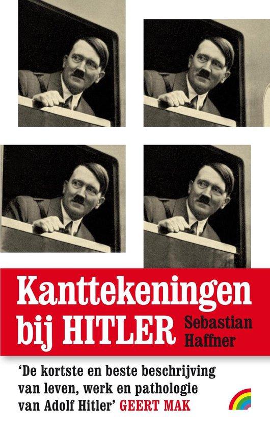 Boek cover Kanttekeningen bij Hitler van Sebastian Haffner (Paperback)