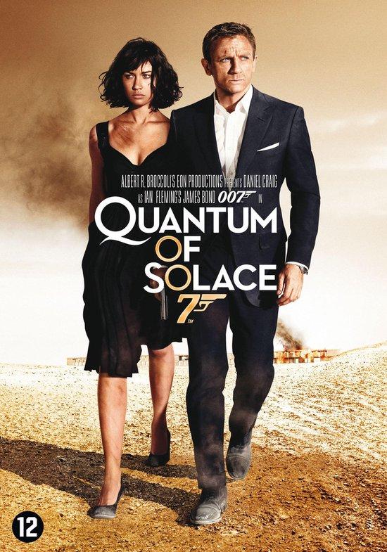 Cover van de film 'Quantum Of Solace'