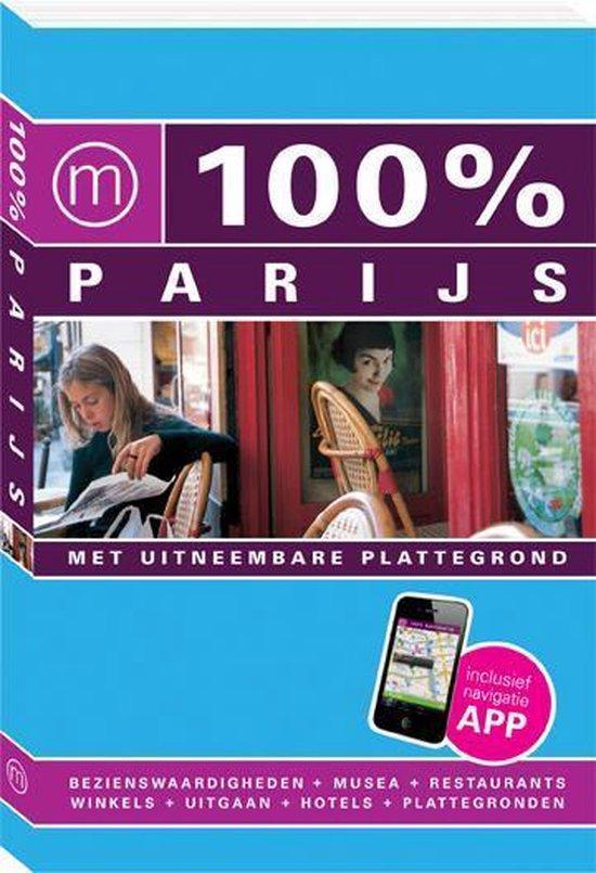 Cover van het boek '100% Parijs / druk Heruitgave' van Maaike van Steekelenburg