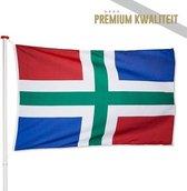 Vlag Groningen 200x300cm