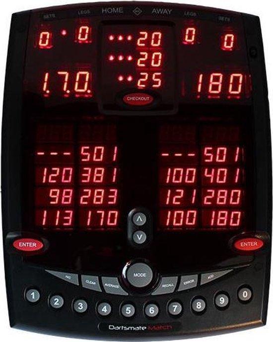Key Glory Dartsmate Match Elektronisch Darts Scorebord
