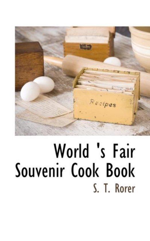 World 's Fair Souvenir Cook Book