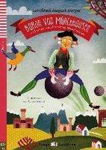 Baron von Münchhausen und seine wundersamen Geschichten. Buch mit Audio-CD