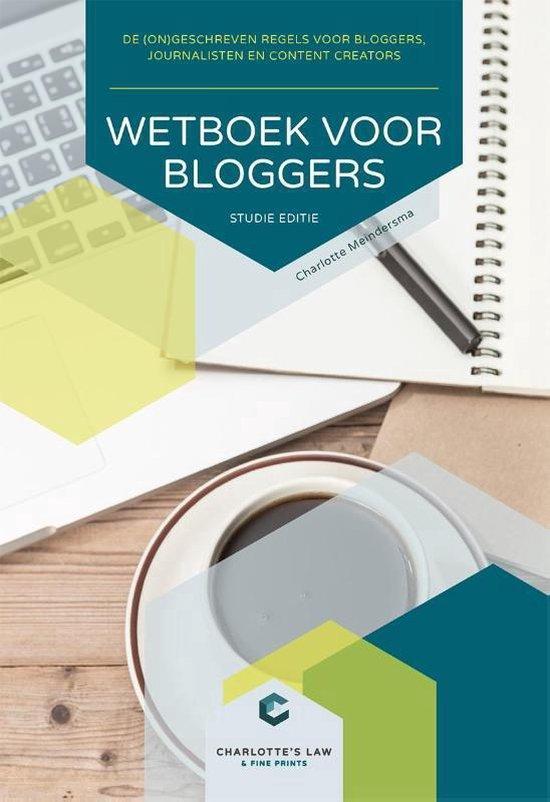 Wetboek voor bloggers Studie editie - Charlotte Meindersma |