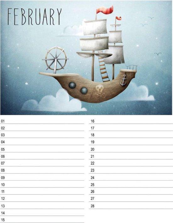 A Happy Birthday Calendar