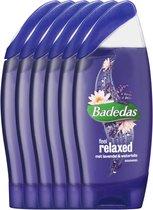 Badedas Feel Relaxt Douchegel - 6 x 250ml - Voordeelverpakking
