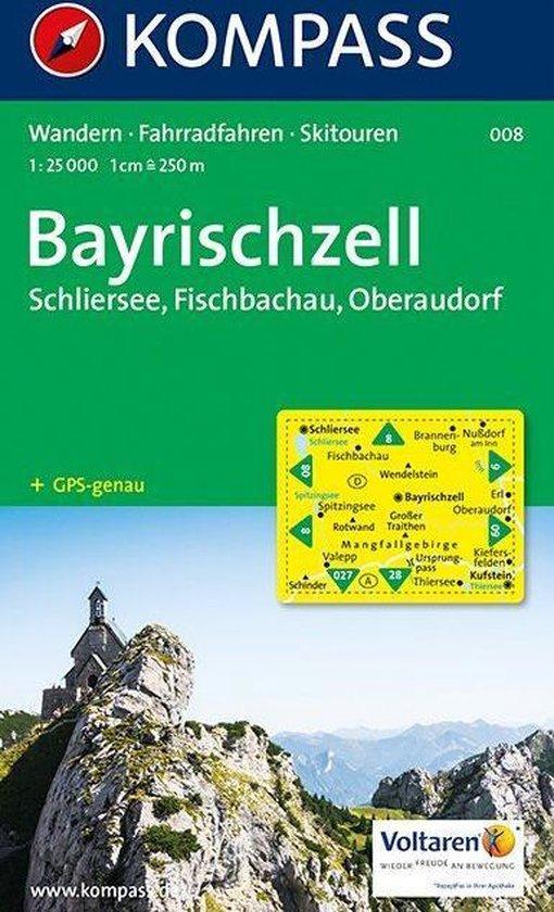Kompass WK008 Bayrischzell, Schliersee, Fischbachau, Oberaudorf - Onbekend |