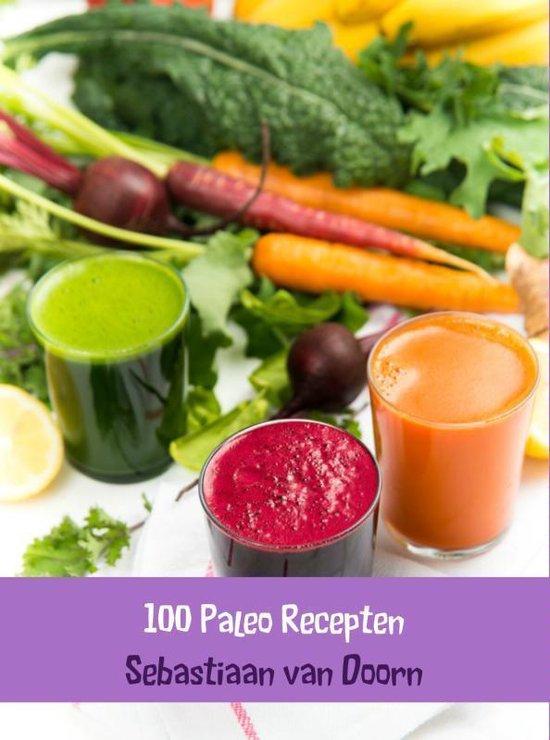 Cover van het boek '100 Paleo recepten' van Sebastiaan van Doorn