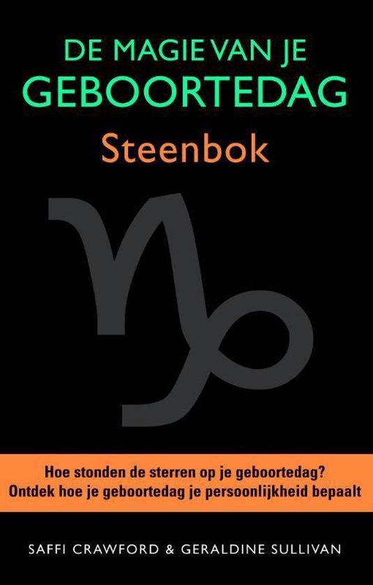 Boek cover De magie van je geboortedag  / Steenbok van Saffi Crawford (Hardcover)