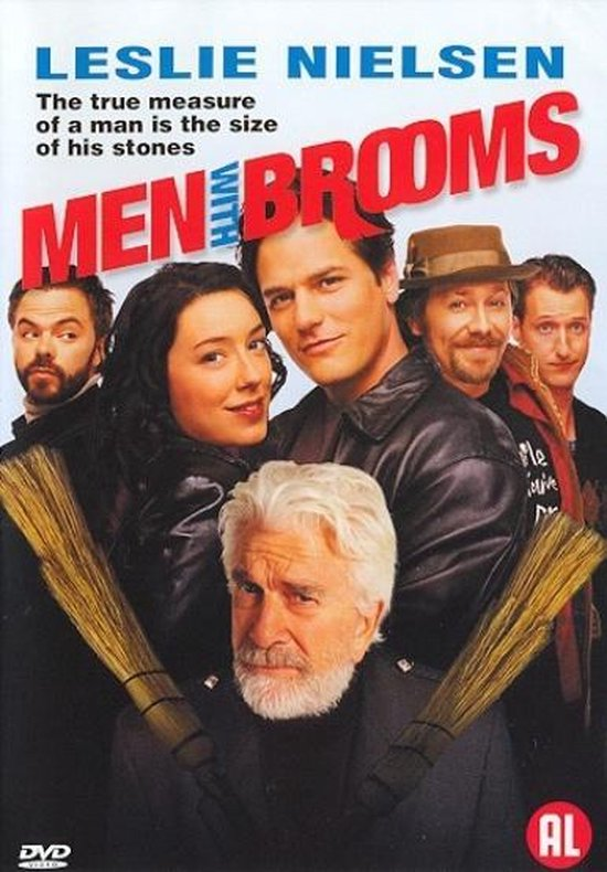 Cover van de film 'Men With Brooms'