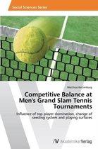Competitive Balance at Men's Grand Slam Tennis Tournaments