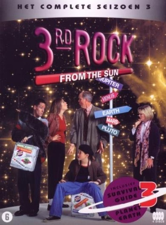 Cover van de film '3rd Rock From The Sun'