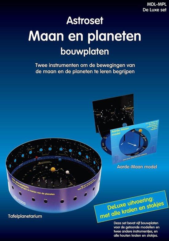 Astroset maan en planeten bouwplaten - Rob Walrecht   Fthsonline.com